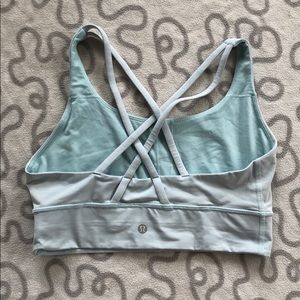 Lululemon Long Line Energy Bra